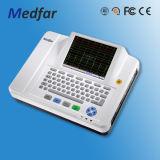 Medfar Mf-Xcm600 6-канальный ЭКГ электрокардиографа с маркировкой CE