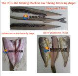 Máquina de enfaixamento dos peixes Fgb-168 pequenos, máquina pequena da borboleta dos peixes