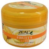 얼굴 가면 100ml를 습기를 공급하는 열성 피부 관리 레몬 & 요구르트