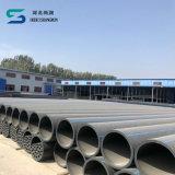 Línea del tubo del HDPE del tubo del PE del suministro de gas de la alta calidad Dn20-Dn630