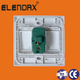 Interruptor da parede de Elendax com placa do ABS (F1203)