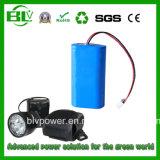 Capacity elevado Hot Sell 12V 6600mAh Miner Lamp Camping Light Bike Light Rechargeable Battery Pack