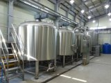 Turnkey Jacketed Brewing Equipment for Producing Broad/Ale