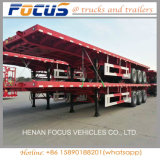 1/2/3/4 BPW Ejes 20ft contenedor de 40 pies/Utilidad/plana de carga/plataforma camión remolque semi