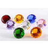 De gefacetteerde Diamant van het Glas van het Kristal van de Gift van de Gunst van het Huwelijk