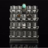 Encargo elegantes pantallas modernas acrílico joyas, anillo de acrílico estante de exhibición del estante