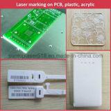 máquina de gravura automática do laser da máquina/metal da marcação do laser 20W
