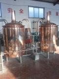 Cervecería, equipo de la sacarificación de la cerveza, equipo de la fabricación de la cerveza cervecería de 500 litros