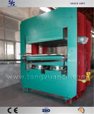 Haltbarer Gummi-vulkanisierenpresse für Gummimatten-Produktion