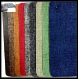 Gesponnenes synthetisches Leder Muster Belüftung-Leahter für Möbel, Sofa