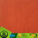 Het houten Decoratieve Document van de Korrel met het Elektronische Systeem van de Meting van de Kleur Mercruy