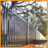 黒いカラー機密保護のアルミニウム管状の塀