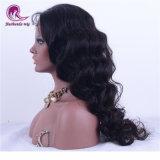 """stile completo di modo dell'onda di acqua della parrucca del merletto dei capelli del Virgin dell'indiano di 20 """" 100%"""
