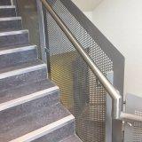 Épaisseur 3mm Srainless feuille en métal perforé en acier de la voie de l'escalier