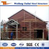Ökonomisches und Form helles Stahlkonstruktion-Haus Prebricated Haus