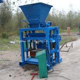 Bloco de Qt4-35 Hcb que faz a máquina o preço oco manual do Indian da máquina dos tijolos