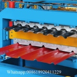 Fabrik-Preis verdoppelte die verwendete Metalldach-Panel-Rolle, die Maschine bildet
