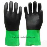 倍はPVC滑り止め手の保護水証拠の手袋を着色する