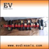As peças do motor do carro elevador DP25 TD23 TD25 TD27 TD42 TD42t Conjunto do Rolamento Principal do Virabrequim