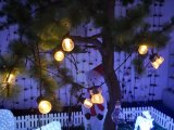 装飾のための新しい地球LEDのテラスの花飾りライト