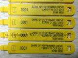 Máquina de grabado portable de la marca de la fibra del laser con la etiqueta de plástico del laser de la potencia 20W/Desktop del laser