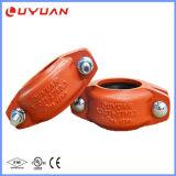 Accoppiamento del ferro ed accessori per tubi duttili per il sistema di protezione antincendio