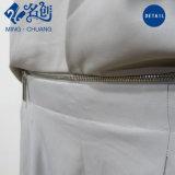 Newstyle Stehen-Muffe grauer Form-Overall mit Taille-Zeile-Reißverschluss