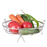 De milieuvriendelijke Ronde Mand van de Houder van het Fruit van de Keuken van het Metaal