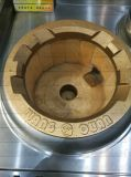La cottura più calda di stile cinese del bruciatore 2 dell'acciaio inossidabile 2 ha squillato