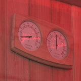 Monalisa perde la nuova stanza prefabbricata asciutta di sauna di disegno LED del peso (M-6052)
