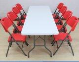 Modernes rechteckiges Plastik-HDPE, das Sitzungs-Bankett-Tabelle speisend sich faltet