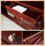 Moderne Schlafzimmer-Möbel, die Spiegel-Tür-hölzerne Garderobe schieben