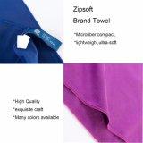 De Handdoek van de Reis van sporten met de Badhanddoek van Microfiber van de Handdoeken van het Strand van de Zak van het Netwerk