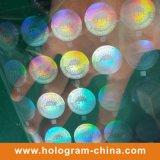 Feuillet d'estampage à chaud hologramme transparent