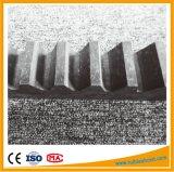 Engrenagem de engrenagem de engrenagem de vermeis para porta deslizante de aço carbono