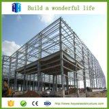 Projeto da vertente do Prefab do edifício do Godown da casa dos materiais da construção de aço