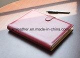 Professional Custom Oficial Diário de couro vermelho