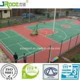 Superficie materiale rispettosa dell'ambiente di sport della copertura del campo da pallacanestro