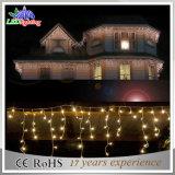 LED Decoración de Navidad de vacaciones al aire libre Icicle Lights