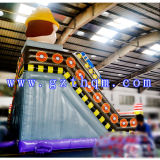 L'activité se retranche la Chambre gonflable d'usager de videur/plein d'entrain gonflable avec la glissière d'eau