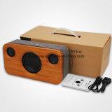 Gymsense Bamboo Haut-parleur Bluetooth En bois Système stéréo Bluetooth Système audio Haut-parleur
