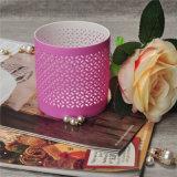 Glasig-glänzender keramischer Tee-Licht-Kerze-Halter