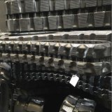 rasto de borracha 250 mm de largura para Escavadoras Hitachi Ex22 (250x52.5x73N)