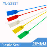 PlastikSecurity Seal mit Serial Number und Logo (YL-S281T)