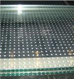 8 mm de la sérigraphie pour mur rideau en verre trempé