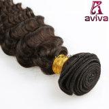 深い波のブラジルの自然なバージンの毛の拡張