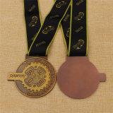 금속 고대 완료 금 은 동메달을 예약했다
