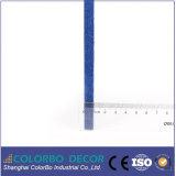 Comitato acustico piano della fibra di poliestere della scheda della parete del materiale da costruzione
