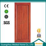 Panel moderna sólido Puerta de madera por Habitación Familiar con E1 (WDM-065)
