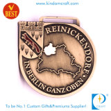 Medaglia di rame antica su ordinazione del premio di esecuzione del ricordo dell'OEM